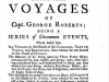 <h5>Title page of <i>Four Years Voyages of Capt. George Roberts</i></h5>